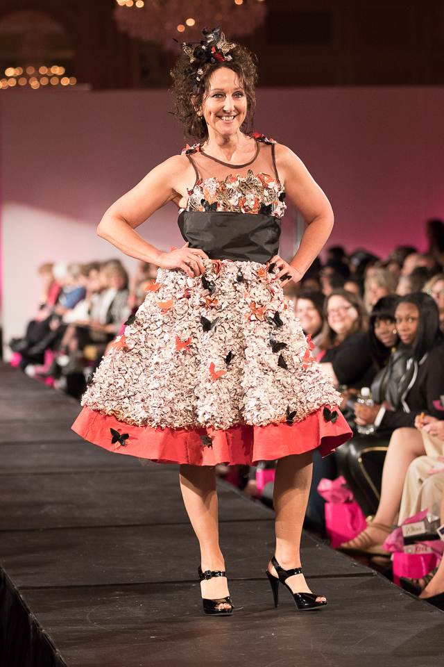 Unconventional Material Challenge Goodwill Rock The Runway